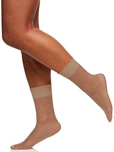 Berkshire Women's Sheer Anklet Socks, Nude, One Size ()