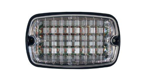 - Whelen M6 Linear Super-LED Lighthead - Red LEDs, Clear Lens