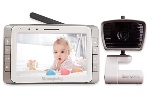 ital Video Baby Monitor with Automatic Night Vision, Temperature Monitoring, Two Way Talkback, Lullabies, Long Range, High Capacity Battery (MANUALLY Rotated Camera) ()