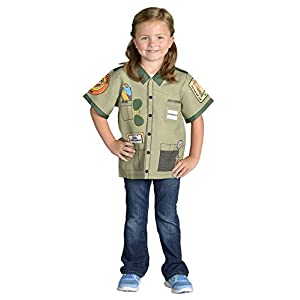 Aeromax My 1st Career Gear Zoo Keeper, Easy to put on shirt fits most ages 3 to 6