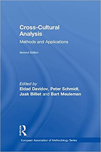 Cross-Cultural Analysis: Methods and Applications (European Association of Methodology Series)