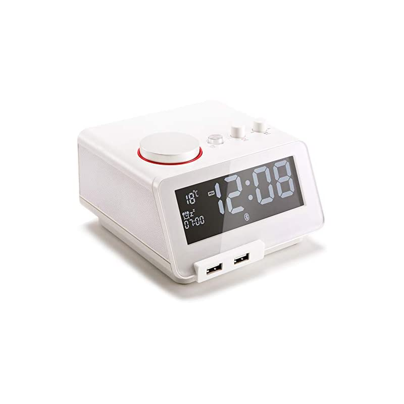Homtime Multi-Functional Alarm Clock Rad