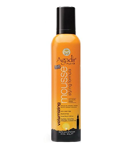 Agadir Argan Oil Volumizing Styling Mousse, 8.5 Ounce