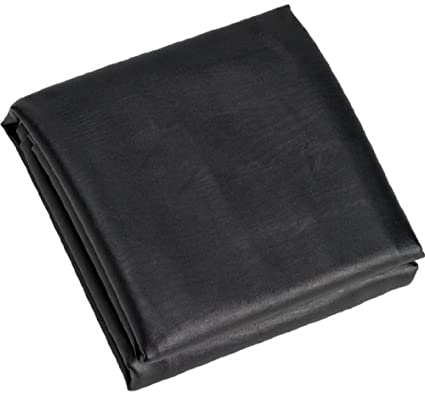 Fitted Heavy Duty Naugahyde Pool Table Cover For 8 Feet Table, Black