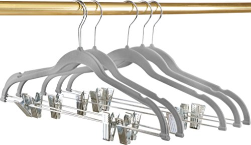 Premium Velvet Hangers (Pack of 12) Heavy Dut...