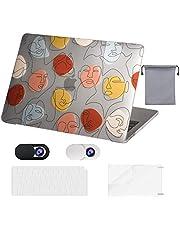 OZADE MacBook Air 13 inch Case 2020 2019 2018 Release M1 A2337 A2179 A1932,Plastic Hard Shell Case,Toetsenbord Cover,Webcam Cover,Schermbeschermer,Opslagzak voor MacBook Air 13,Eén lijn één wereld