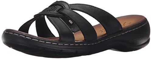 Skechers Women's Passenger-Getaway Dress Sandal, Black/Black, 7.5 M - Womens Comfort Sandal