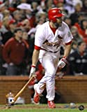 Lance Berkman Autographed Photo - 16x20 2011 World Series LTD 211 Hologram - Autographed MLB Photos