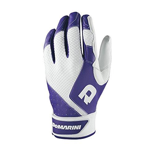 Demarini Swing - DeMarini Men's Phantom Batting Gloves, Purple, Medium