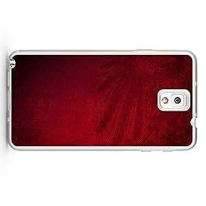 Janmaons Galaxy Note 3 Case - Digital 1o5kI Art Red Eagle Crest Case for Samsung Galaxy