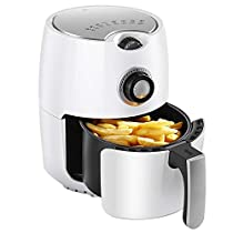 MDYYD Air Fryer Air Fryer Oil Free Low Fat Automatic Multifunctional Household Electric Fryer Electric hot air Fryer (Color : White, Size : 27x20x25CM)