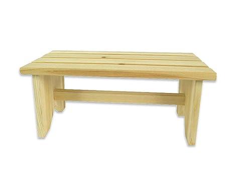 Vetrineinrete sgabello in legno per bambini sedia seduta panca da