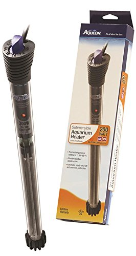 Aqueon 06103 Submersible Aquarium Heaters, 200-Watt (Aquarium Heater 200w compare prices)
