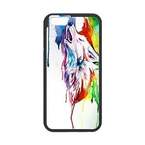 "LTTcase Custom Rainbow Wolf Case for iphone 6s 4.7"""