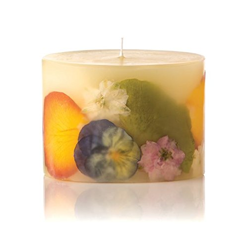 Orange Blossom & Honey Petite Oval Botanical Candle by Djohn2008 (Blossom Orange Linden)