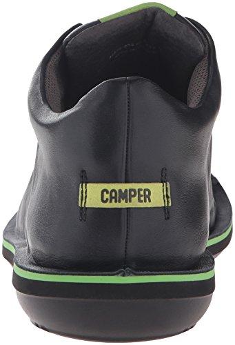 CamperBeetle - Scarpe da Ginnastica Alte Uomo Nero (Black 038)