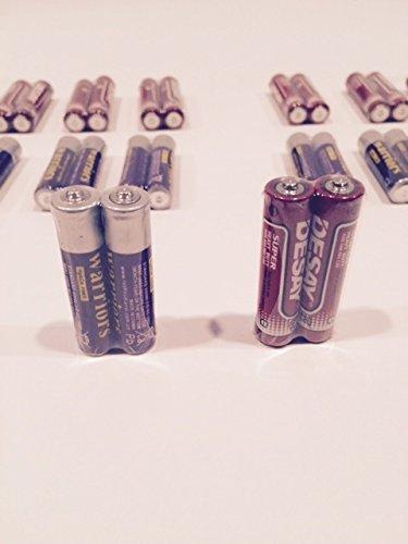 100 AAA Batteries Extra Heavy Duty 1.5v. 100 Pack Wholesale Bulk Lot New Fresh