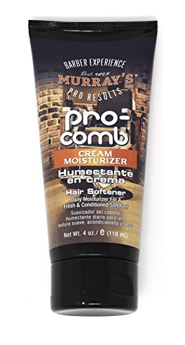 Pro Styling Comb - [ PACK OF 2 ] MURRAYS PRO COMB CREAM MOISTURIZER 4 OUNCE EA