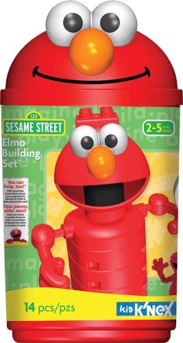 Sesame Street Elmo Building Set - Kid Knex Elmo