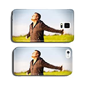 Happy man in nature cell phone cover case iPhone6 Plus