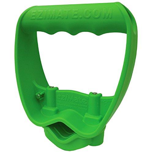 Back-Saving Tool Handle, Labor-Saving Ergonomic Shovel or Rake Handle Attachment, GREEN - Rakes And Shovels