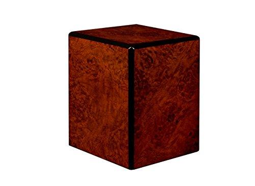 Collection, Wood Urn, Pet Urn, Small cremation Urn, Keepsake Urn Burl wood finish (Burl Finish Wood)
