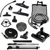 Diamond Central Vacuum Accessory Kit with Sebo ET-2 Powerhead (Direct Connect, 35')