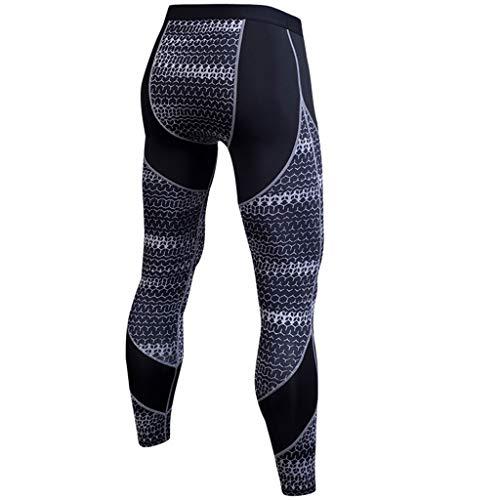 Men's Compression Cool Dry Sports Tights Pants Baselayer Running Leggings Yoga Rashguard-Bike Bicycle Outdoor Sports Tights