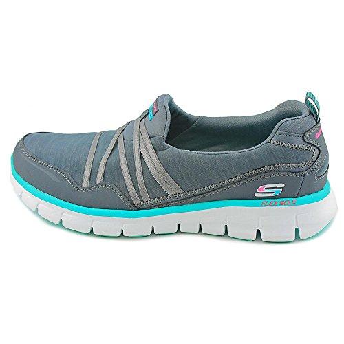 Aqua Synergy Femme Basses Charcoal Stealer Sneakers Skechers nbsp;Scene X0ZWn1q1d6
