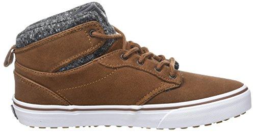 Vans Jungen Atwood Hi MTE Sneaker Braun (Mte/ Emperador/asphalt)