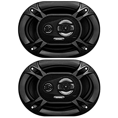 Sound Storm Labs EX369 300 Watt Per Pair 6 x 9 Inch Full Range 3 Way Car Speakers Sold in Pairs: Car Electronics