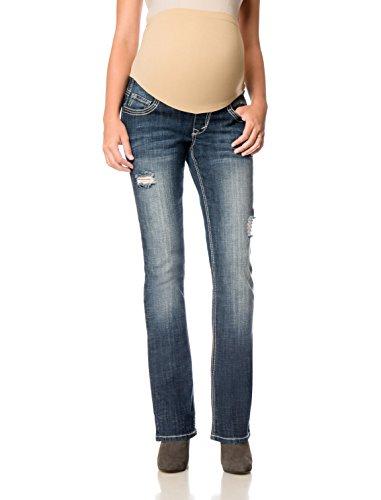 Motherhood Wallflower Secret Fit Belly(r) 5 Pocket Slim Boot ...