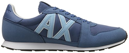 Sneaker Exchange X Fashion Running Men Sneaker Blue Armani Horizon Retro A 41TwFqW