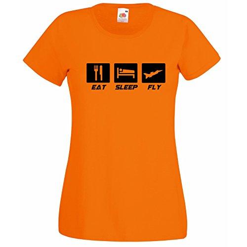 Super Fly con da Aereo Loom Free Orange Bees Modello shirt Shirt Keep T Hawx Fruit citazione Of Premium donna The Airforce Aereo Decorated correlati Inspirational tFaO0awq
