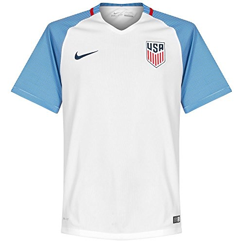 Nike USA 2016-17 Home Soccer Jersey Adult Mens Large