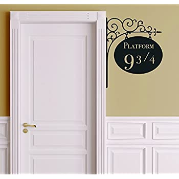 Amazoncom Roommates RmkScs Harry Potter Peel And Stick Wall - Wall decals harry potter