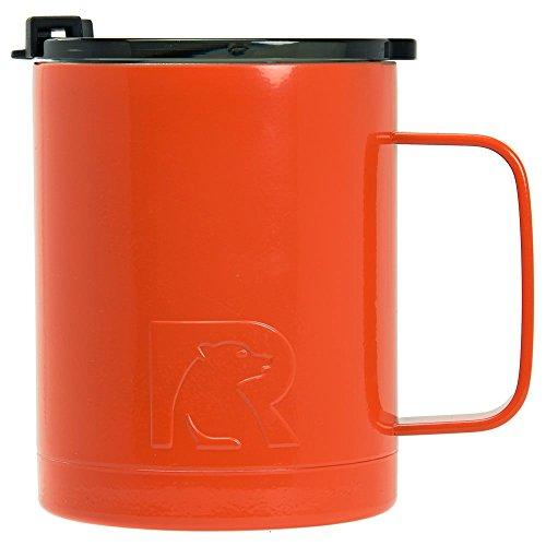 Orange Coffee Mug - RTIC Coffee Cup, Orange