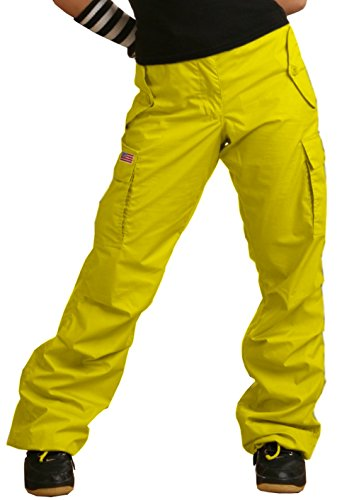 Ufo Pants (UFO's Girly Hipster Pant, Yellow (X-Large))