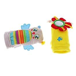 Calcetines juguetes sensoriales para bebés