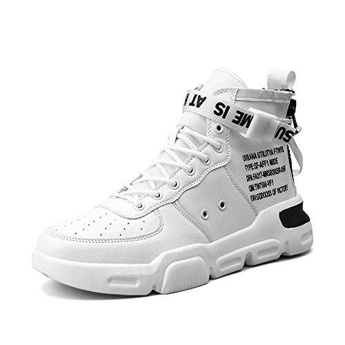 Zapatillas de baloncesto para hombres, altas para ayudar ...