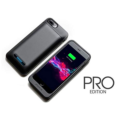 Phonesuit Elite PRO Battery Case for iPhone 8, 7, 6/6S Plus with Touch Controls
