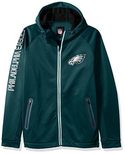 G-III Sports NFL Philadelphia Eagles Motion Full Zip Hooded Jacket, 6X, Green for $<!--$125.99-->