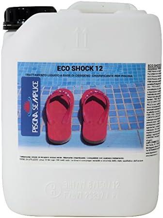 10 kg oxígeno líquido 12% Activo Eco Shock desinfección piscina ...