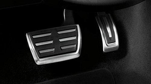 Audi 8V1064205 Pedalkappen mit Automatikgetriebe aus Edelstahl