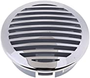 4-inch 100mm Marine Grade 316 Stainless Grill Airflow Vent Cover for RV Boats 81932SS-HP (Silver)