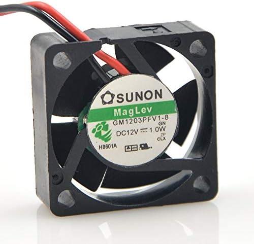 FOR SUNON 3cm 12V 1.0W GM1203PFV1-8 2-wire 3010 magnetic suspension cooling fan