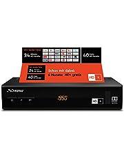 STRONG SRT 7806 HD satellietontvanger voor HD Plus incl. HD+ kaart DVB-S2 Full HD, zwart