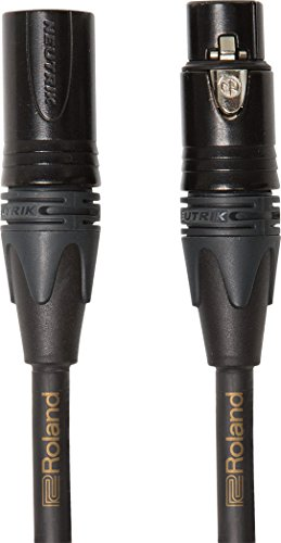 Roland 25ft Microphone Cable, Gold series (RMC-G25)