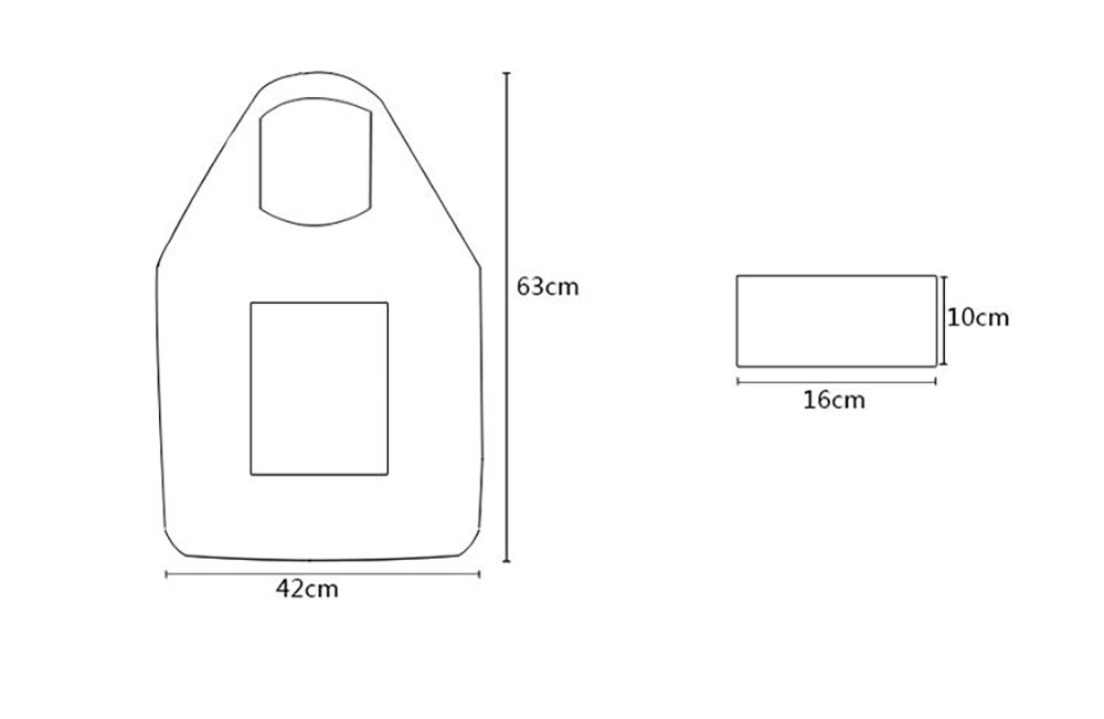 Sac de course Pliable Polyester /étanche Avec fermeture /éclair R/éutilisable Grande capacit/é
