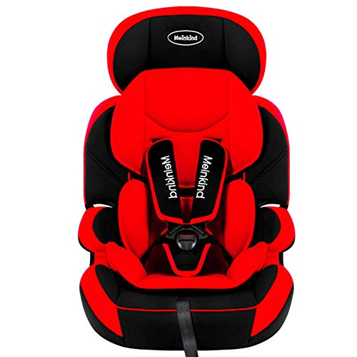 $280.00 Target Infant Car Seats Child Safety seat car Baby Baby car Simple 9 months-12 Years Old Universal Folding Safety seat,red 2019